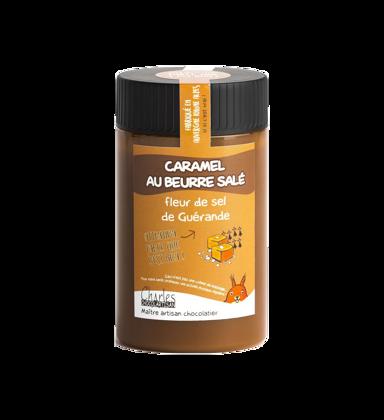 Caramel au beurre salé et fleur de sel de Guérande