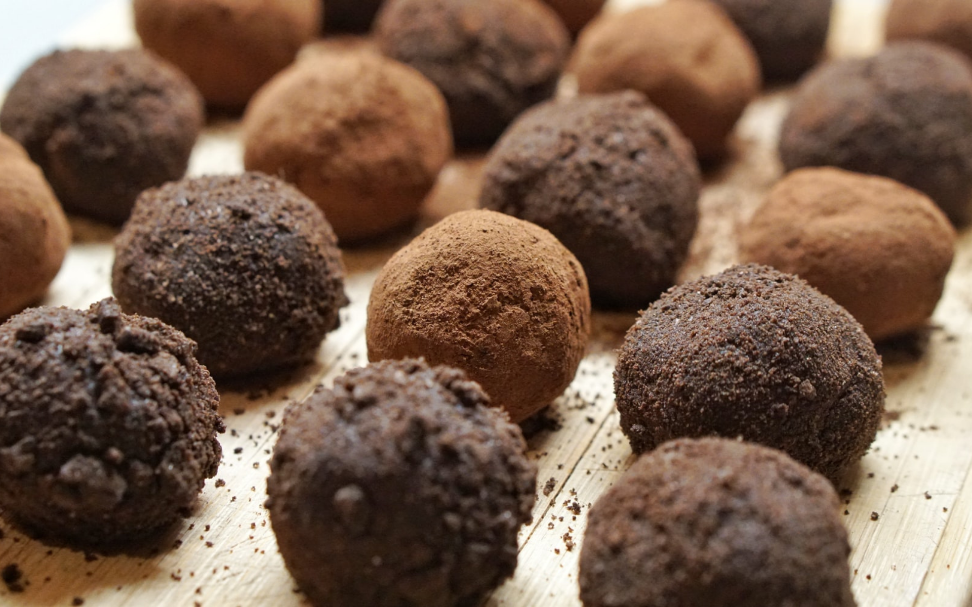 Les truffes & rochers
