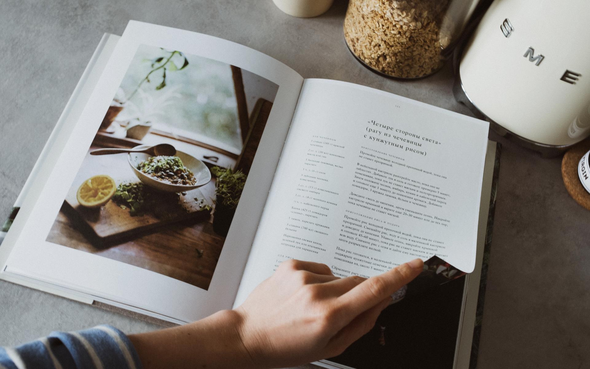 Les livres et kits recette