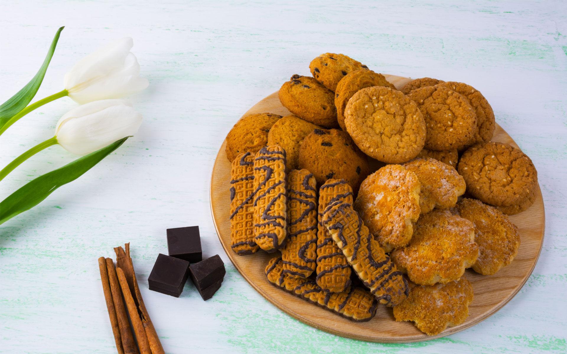 Les cookies et biscuits