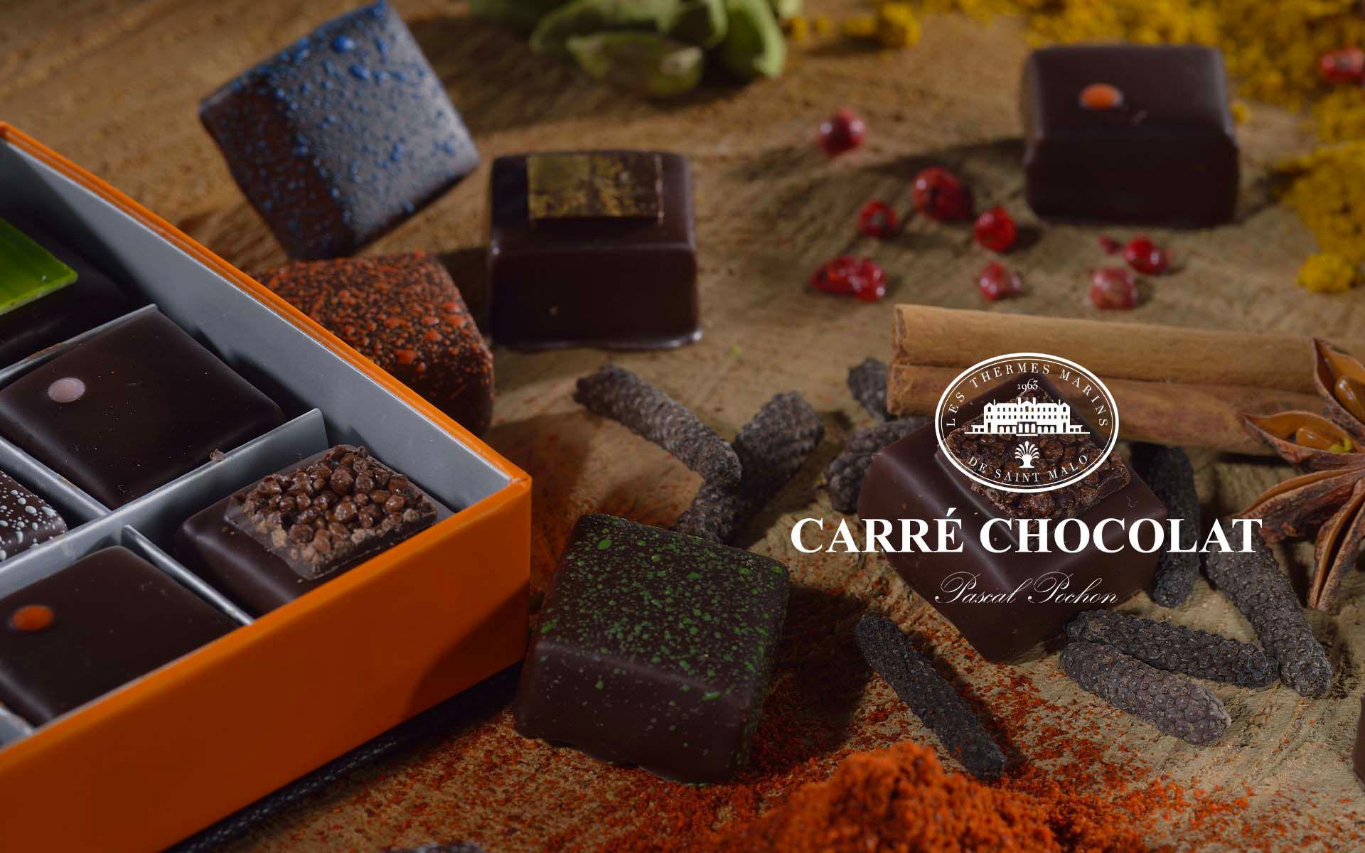 Carré Chocolat - Pascal Pochon