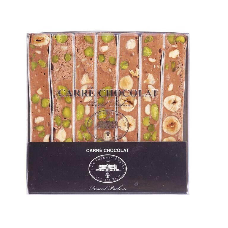 Boîte de Nougats Tendres au Chocolat